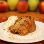 AppleCakeWithCream