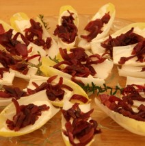 Endive with Goat Cheese and Caramelized Onions Recipe