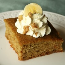 Light and Easy Banana Cake Recipe