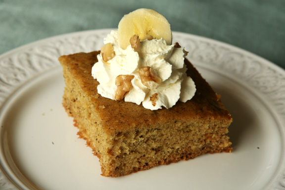 Light-as-a-Feather Banana Cake