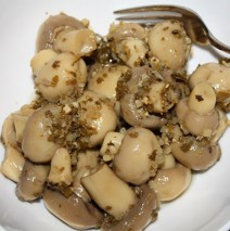 Marinated Mushrooms or Artichoke Hearts Recipe