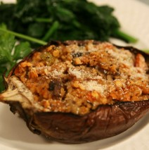 Roasted Eggplant with Lentils and Bulgur Step-by-Step