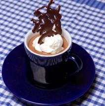 Chocolate Irish Coffee Mousse for Two